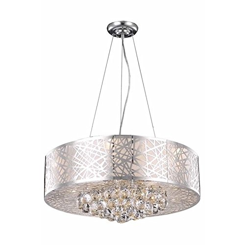 Elegant Lighting 2078D24C/RC Royal Cut Crystal