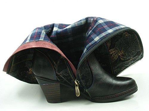 Womens SL1293 Alizee Schwarz Laura 11A Boots Leather Vita 11 PXqWW5Zpc