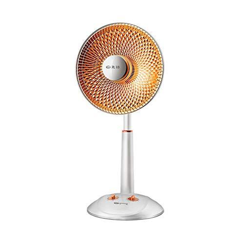 Termoventiladores CJC Eléctrico Calentadores Cuarzo Tubo Calefacción Suelo Oscilante Ventilador Vertical Minutero 60...