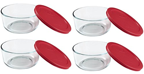 pyrex glass storage 4 cup lid - 6