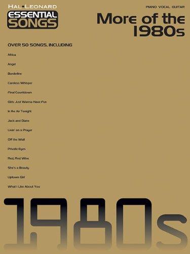 (More Of The 1980S Essential Songs (Hal Leonard Essential Songs))