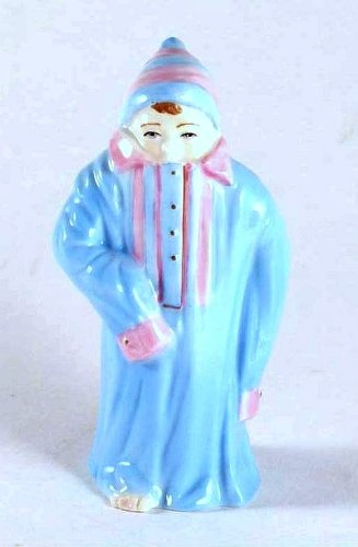 (Royal Worcester c2002 RW4942 Toddie Candle Snuffer or Small Figurine - from Helens Babies - LE of 750 only - GC28)