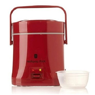 Everyday Essentials 1.5-Cup Perfect Portable Rice Cooker Finish: Red
