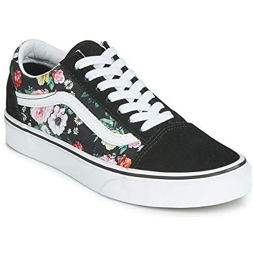 Vans Unisex Old Skool Skate Shoe Adults (7.5 Women / 6 Men M US, Garden Floral 7432)