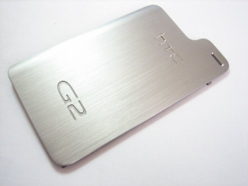 Battery Back Cover Door for T-Mobile G2 HTC Desire Z A7272 - Metal Silver color ()