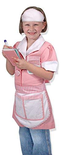 Melissa & Doug Waitress Role Play Dress Up
