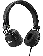 Marshall Major III Wired Headphones, Wired Over-Head Headphones, Black