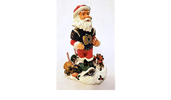 Louis Rams Santa Claus Forever Collectibles Bobblehead St