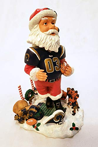 (St. Louis Rams Santa Claus Forever Collectibles Bobblehead)