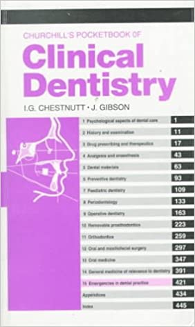 Churchills Pocketbooks Clinical Dentistry Pdf