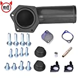 EVIL ENERGY EGR Valve Delete Kit for Ford Powerstroke 2008-2010 6.4L w/ High Flow Intake Elbow