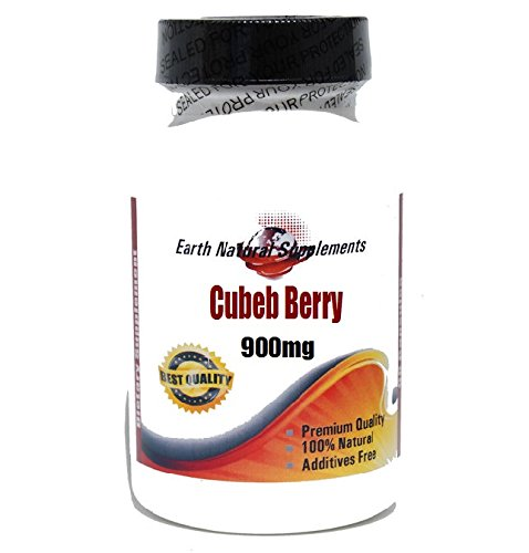 Cubeb Berry (Cubeb Berry 900mg * 180 Capsules 100 % Natural - by EarhNaturalSupplements)