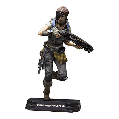 McFarlane Toys Gears of War 4 Kait Diaz 7 Collectible Action -
