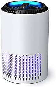 AROEVE Air Purifiers for Home, H13 HEPA Air Purifiers Air Cleaner For Smoke Pollen Dander Hair Smell Portable