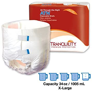 Tranquility ATN (All-Through-The-Night) Overnight Brief, Large,