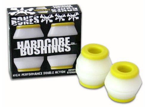 - Bones Wheels Hardcore Bushings Medium White