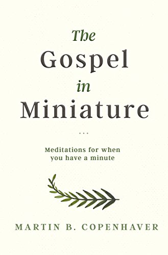 The Gospel in Miniature: Meditations for When You Have a Minute