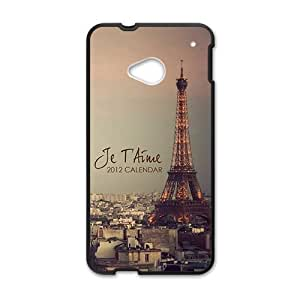 Paris personalized creative custom protective phone case for HTC M7
