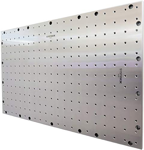 System X Storage SVS 081 Metal Pegboard Stainless Steel With Unique Threaded Holes 41