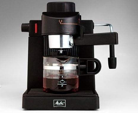 Amazon.com: Melitta mex1b máquina espresso/Cappuccino (mex ...