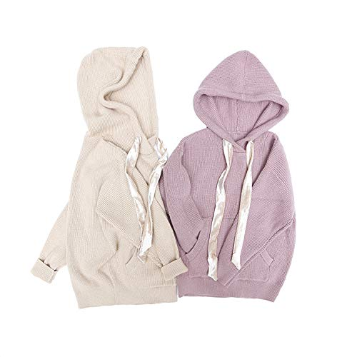 LittleFatBear Toddler Baby Boy Girl Cable Knit Pullover Sweater Jacket Long Sleeve Hoodies Coats