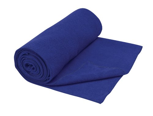 Gaiam Blue Thirsty Yoga Mat Towel