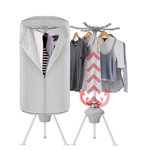 Electric Clothes Dryer 1000W Wardrobe Machine Home drying Ra