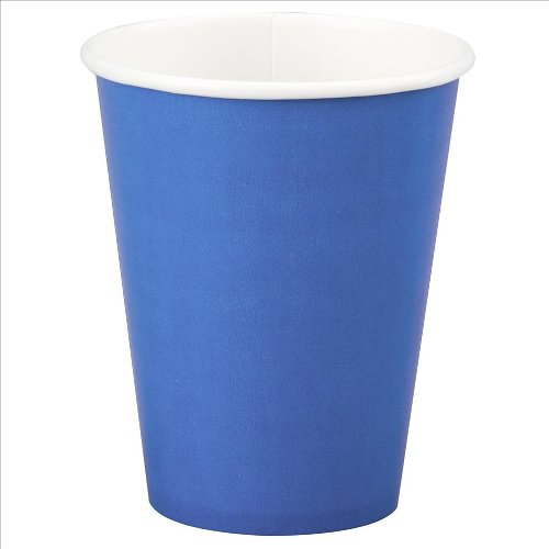 12oz Royal Blue Paper Cups, 10ct