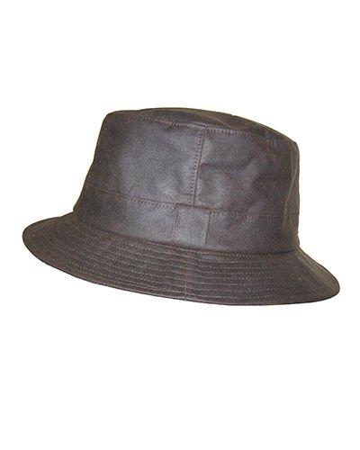 Hoggs de Fife encerado Bush sombreros–marrón Hoggs of Fife ltd