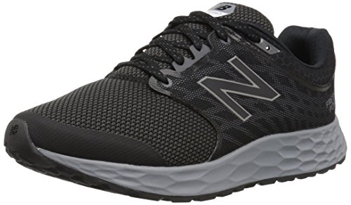 New Balance Men's 1165v1 Fresh Foam Walking Shoe, Black/Silver, 10.5 2E US -