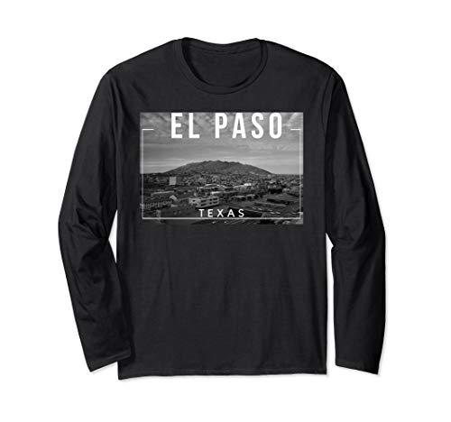 El Paso Texas TX Skyline Rio Grande Long Sleeve T-Shirt -