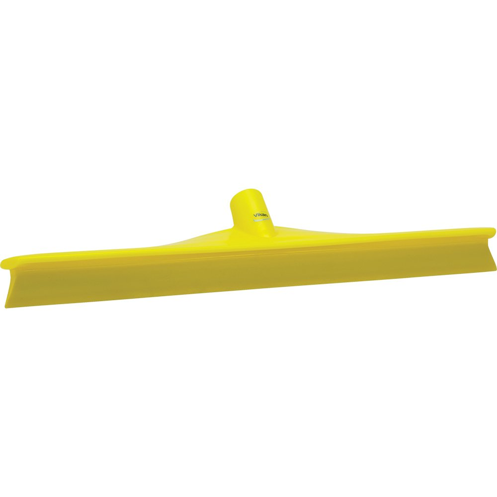 Vikan 71506 Rubber Polypropylene Frame Single Blade Squeegee 20 Yellow