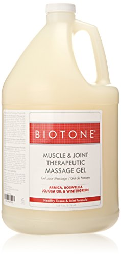 Biotone Muscle and Joint Massage Gel, 128 Ounce