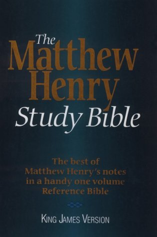 The Matthew Henry Study Bible: King James Version