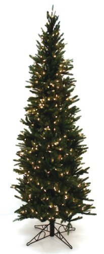 Tree Christmas Tidings Good (Good Tidings Oregon Pine Artificial Prelit Christmas Tree, 7-1/2-Feet, Clear Lights)