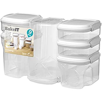 Amazon Com Sistema 1213 Bake It Food Storage For Baking