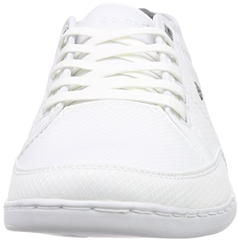 Boxfresh Sparko Icn Rip Nyl Wht/grif Gry - Zapatillas Hombre Blanc - Weiß (WHITE/GRIFFIN GREY)