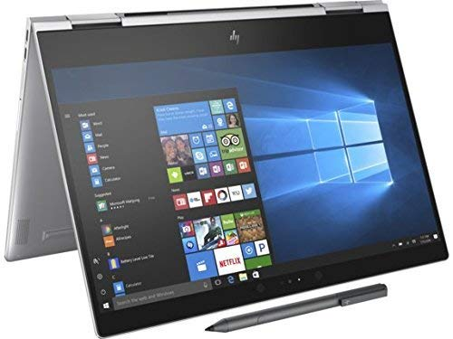 HP Spectre Touch x360 13t-ae00 Silver Convertible 8th Gen Quad Core Intel i7 up to 4.0GHz 8GB 256GB SSD 13.3inch FHD Gorilla Glass (Renewed)