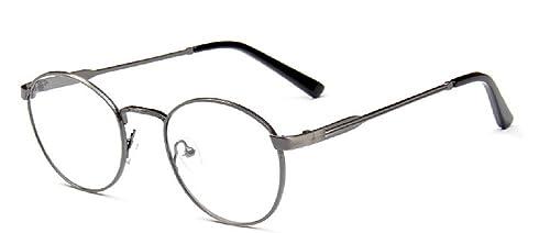 Embryform Campus letteraria sottili occhiali cornice occhiali cornice retr¨° spazzolato struttura in metallo a specchio 9738
