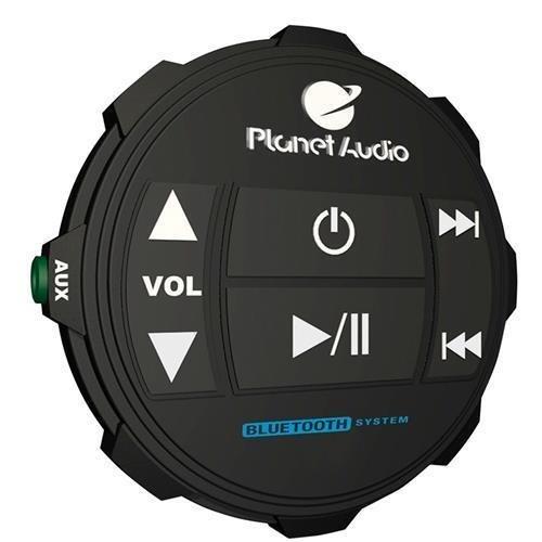 Planet Audio PATV65 Planet Off Road ATV Sound System, 6.5'' Marine Speakers, Bluetooth, LED Bar