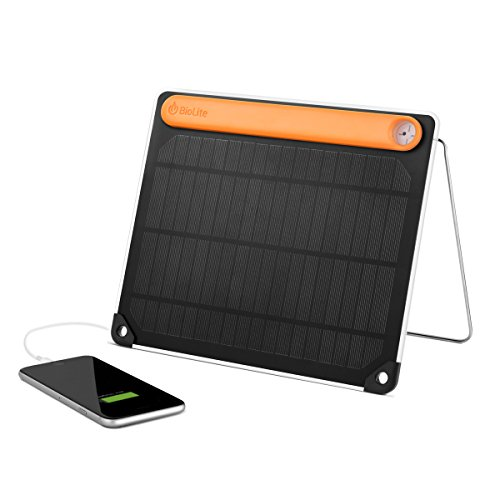 Integrated Panel - BioLite SolarPanel 5+ with Integrated Power Bank, 5 watts, 2200mAh
