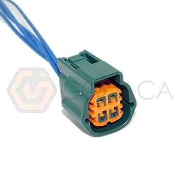 Amazon com: 1x Connector 4 pin 4-way for O2 Sensor Subaru
