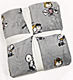 Peanuts Gang Valentines Plush Full/Queen Bed