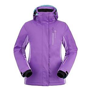 Andorra Women's Performance Insulated Ski Jacket with Zip Off Hood