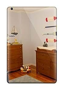For Ipad Mini/mini 2 Premium Tpu Case Cover Nautical Themed Nursery With Wood Oars And Sailboats Protective Case