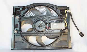 BMW 3 SERIES E46 99 00 323 328 Ci i AC A/C CONDENSER COOLING FAN 64 54 6 988 913 323i Condenser Cooling Fan