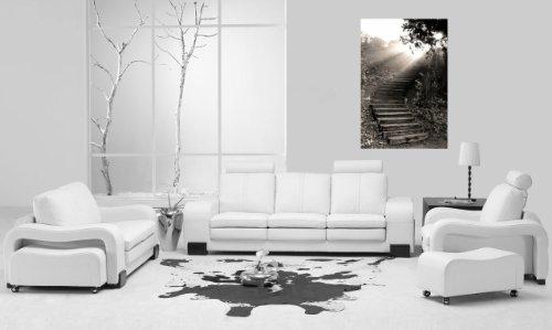 Startonight Canvas Wall Art Angels Path Astonishing, Angels USA Design for Home Decor, Dual View Surprise Artwork Modern Framed Ready to Hang Wall Art 31.5 X 47.2 Inch 100% Original Art Painting!