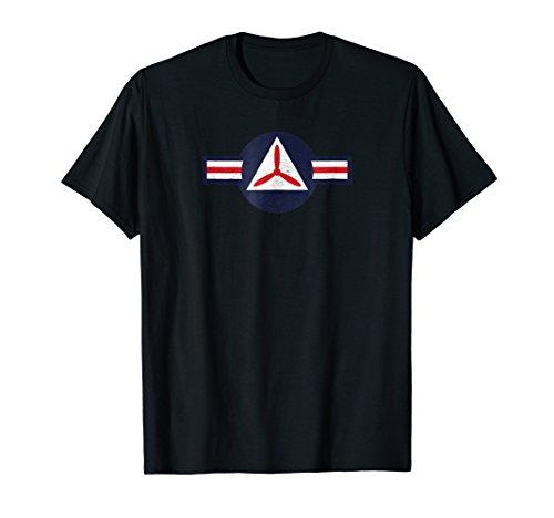 Civil Air Patrol Shirt Vintage Air Force CAP Roundel Tee ()