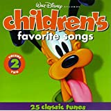 Walt Disney Records : Children's Favorite Songs, Vol. 2 : 25 Classic Tunes