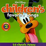 Walt Disney Records : Children's Favorite Songs, Vol. 2 : 25 Classic Tunes